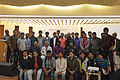 Group photo of Bengali Wikipedians at Wikipedia 15 celebration in BSK (04).jpg