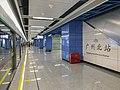 Guangzhou North Railway Station GZMTR Platform 1 Part 1 2018 03.jpg