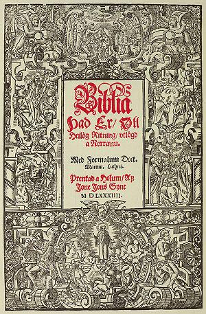 Guðbrandur Þorláksson - Guðbrandur published the first complete Icelandic translation of the Bible in 1584.