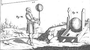 Otto von Guericke - Guericke's experiments with the sulfur globe published 1672