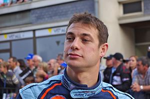 Guillaume Moreau - Moreau at the 2011 24 Hours of Le Mans driver parade