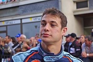 Guillaume Moreau - Moreau at the 2011 24 Hours of Le Mans driver parade