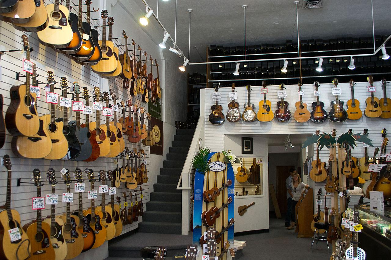 Music Rooms London Storage