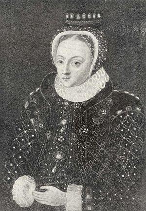 Gunilla Bielke - Queen Gunnilda about 1588