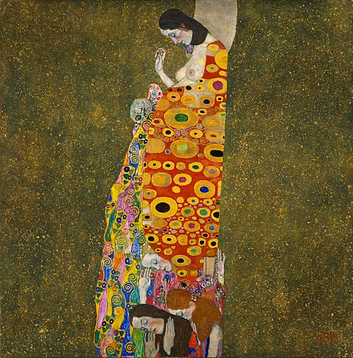 Gustav Klimt - Hope, II - Google Art Project