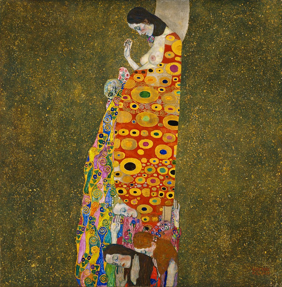 Gustav Klimt - Hope, II - Google Art Project
