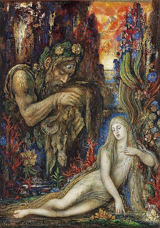 Gustave Moreau - Galatée