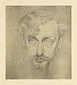 Gustave van de Woestyne - Portrait de Hippolyte Fierens-Gevaert (1870-1926) - lithographie - Royal Library of Belgium - S.III 76733.jpg