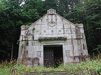 Gutenstein Berl-Mausoleum Front.JPG
