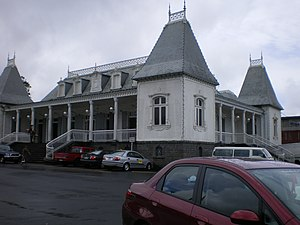 Curepipe - The Old Town hall of Curepipe
