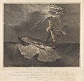 H.M.S. Dido, 18. In the hurricane of January 21st 1856 off Raiatea, Pacific - RMG PY0870.jpg
