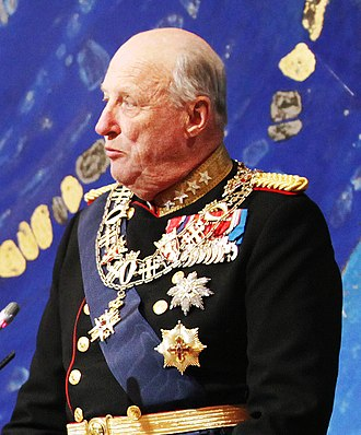Harald V of Norway - King Harald V at the opening of the Sami parliament in 2013