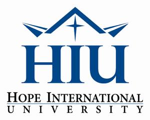 Hope International University - Image: HIU Logo