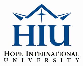 Hope International University Private Christian University in California