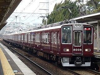 Hankyū Kōbe Main Line railway line in Japan