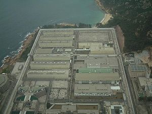 Stanley Prison - Aerial view of Stanley Prison