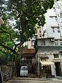 HK 上環 Sheung Wan 差館上街 Upper Station Street 太平山街 Tai Ping Shan Street Tai Shan House shop n banyan tree outside carpark CN150 Aug 2016 DSC.jpg