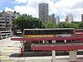 HK 元朗西巴士總站 Yuen Long West BT Bus Terminus 安達坊 On Tat Square KMBus body view Ho Shun Fuk Building July 2016 Kwok Ka-ki 001.jpg