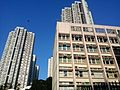 HK Sheung Shui 北區大會堂 North District Town Hall facade San Wan Road Jan 2016 Lnv2.jpg
