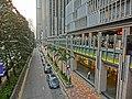 HK Wan Chai North 灣景中心大廈 Causeway Centre CRC sidewalk carpark Harbour Drive Mar-2013.JPG