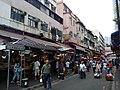 HK Yuen Long New Street market zone sidewalk shop n food display for sale October 2016 Lnv 02.jpg