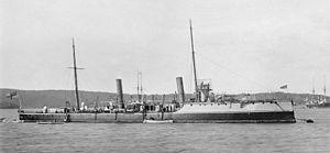 Sharpshooter-class torpedo gunboat - HMS Boomerang