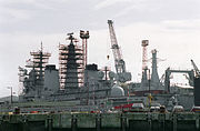 HMS Invincible (R05) undergoing overhaul and modernization.jpg