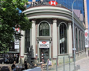 North Sydney, New South Wales - HSBC Building (built in the 1800s)
