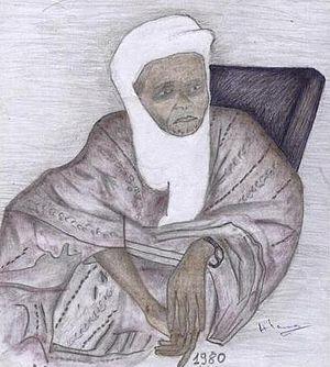 Zarma people - Clothing of an aristocratic Zarma