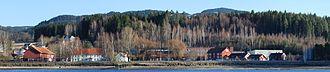 Hadeland Glassverk - Panorama of Hadeland Glassverk
