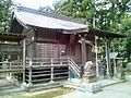 Haiden of Taga-jinja shrine at Taihaku ward,Sendai city.JPG