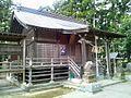 Haiden of Taga-jinja shrine at Taihaku ward,Sendai city.JPG