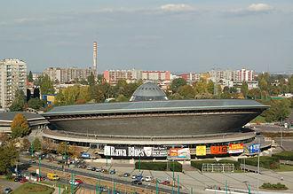 1975 European Athletics Indoor Championships - Image: Hala Spodek 2007 10