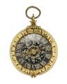 Halsur med boett och urtavla av förgyllt silvermed, 1600-tal - Hallwylska museet - 110453.tif