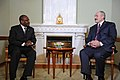 Hamadoun Touré with Alexander Lukashenko - 2009 (4143430705).jpg
