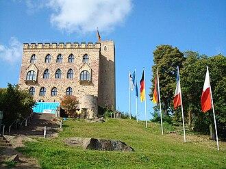 Hambach Festival - Rebuilt Hambach Castle today