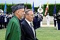 Hamid Karzai and Donald Rumsfeld, May 23, 2005.jpg