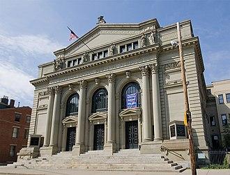 Hamilton County Memorial Building - Image: Hamilton County Memorial