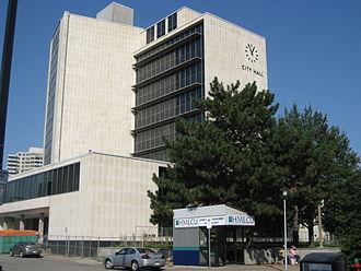 Hamilton City Hall - City Hall (west end)