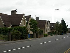 Hamworthy, Lady Wimborne's Cottages - geograph.org.uk - 1502348.jpg