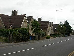Hamworthy - Image: Hamworthy, Lady Wimborne's Cottages geograph.org.uk 1502348