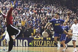 Bosnia and Herzegovina national handball team - January 19, 2006: Bosnia v Greece 29–27