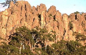 Hanging Rock, Victoria - Image: Hanging Rock 0005