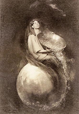 Adelaide Hanscom Leeson - The Eternal Saki, by Adelaide Hanscom. Published in The Rubaiyat of Omar Khayyam, 1905.
