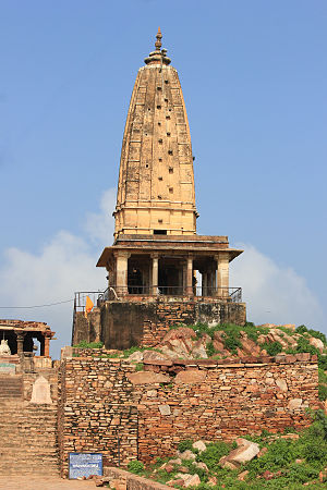 Sikar - Harshnath Temple, Sikar, made in 973 AD