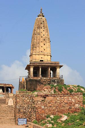 Sikar - Harshnath Temple, Sikar, made in 973 AD