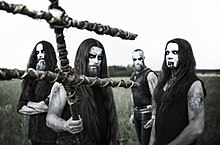 HATE in 2018. From left to right: Apeiron, Pavulon, Domin, ATF Sinner.