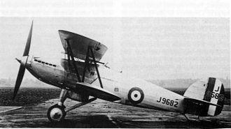 Hawker Fury - Hawker Hornet (Fury prototype)