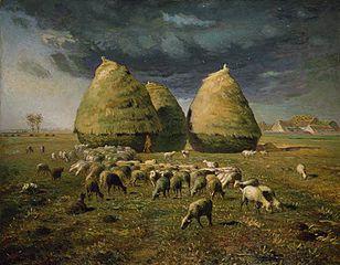 Haystacks: Autumn