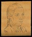 Head of a youth. Drawing, c. 1794. Wellcome V0009207EL.jpg